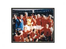 Jack Charlton Autograph Photo Signed - 1966 World Cup